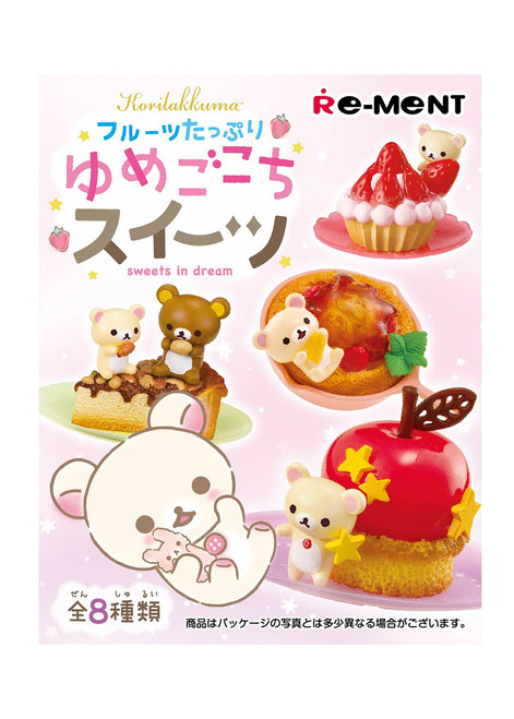Rilakkuma Fruits Dessert Rement
