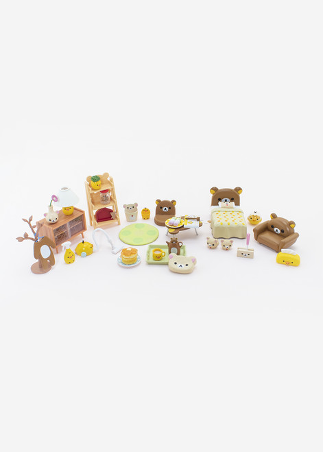 Rement Rilakkuma Room Highly Detailed Miniature Collectible Toys
