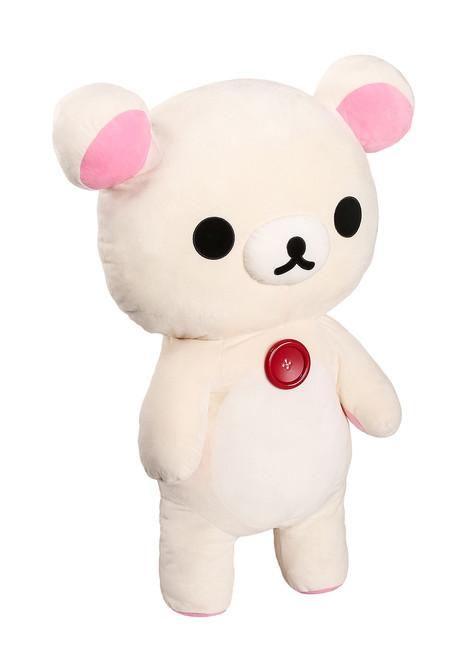 Korilakkuma Jumbo Plush Stuffed Animal