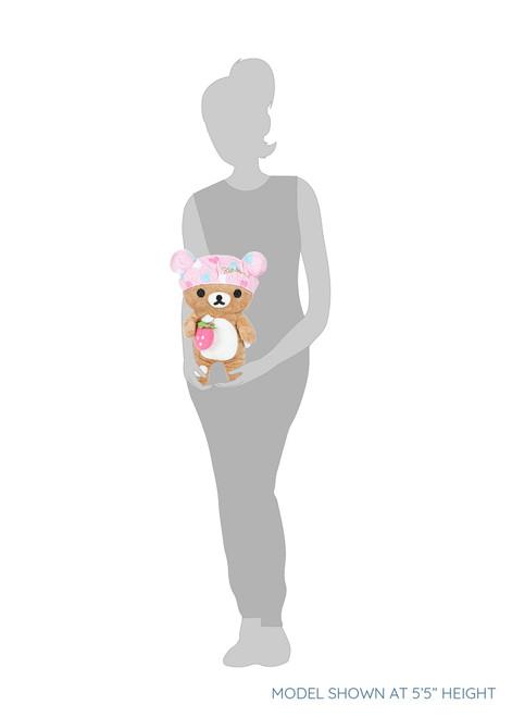 Rilakkuma Bath Time Shower Cap Plush Stuffed Animal