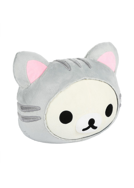 Korilakkuma Tiger Face Plush Stuffed Pillow