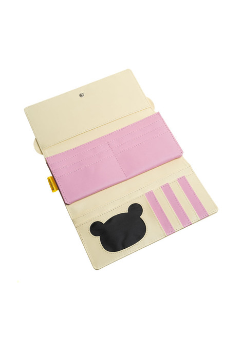 Korilakkuma Face Long Wallet