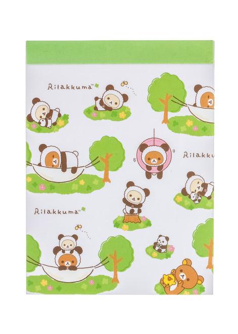 Rilakkuma Panda Memo Pad