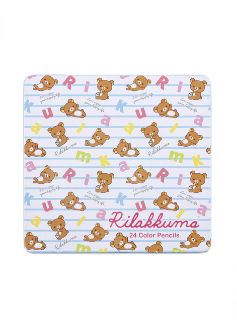 Rilakkuma 24 Color Pencils