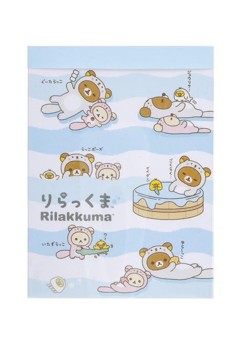 Rilakkuma Sea Otter Memo Pad