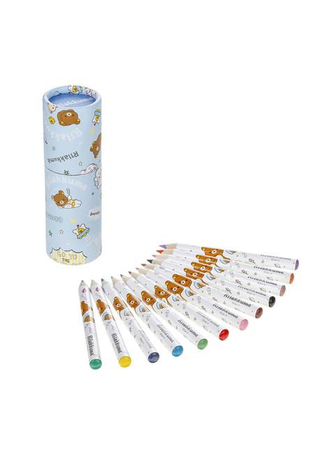 Rilakkuma Space 12 pack color pencils