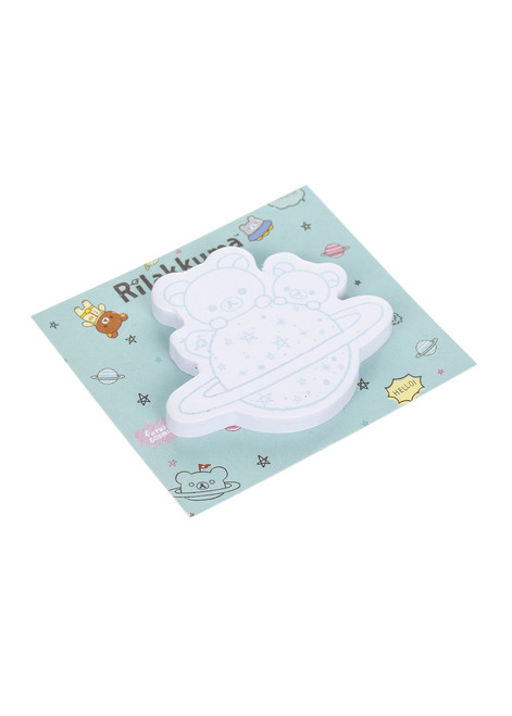 Korilakkuma Space Sticky note pad