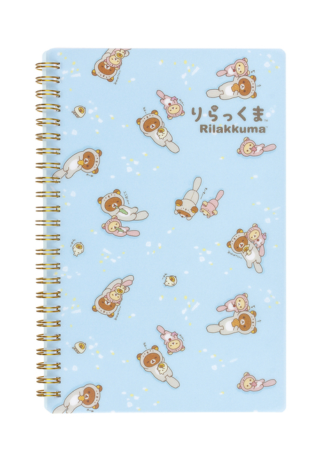 Rilakkuma Sea Otter Spiral Notebook