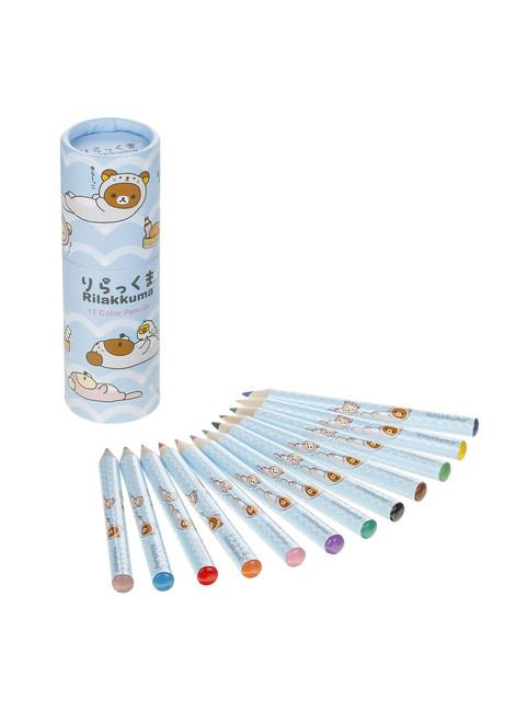 Rilakkuma Sea Otter 12 pack Color Pencils