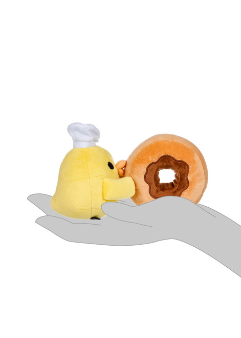 Kiiroitori Chef with Donut Plush Stuffed Animal