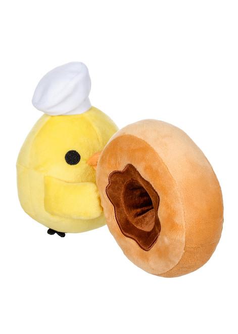Kiiroitori Chef with Donut Plush Stuffed Animal