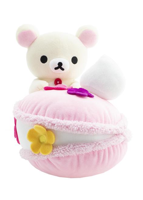 Korilakkuma Macaron Plush Stuffed Animal