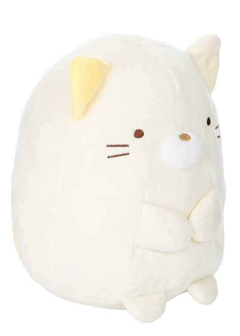 Neko White Cat Stuffed Plush Animal - Large