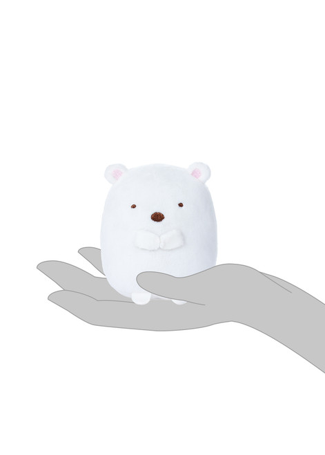Shirokuma White Bear Stuffed Plush Animal - Small