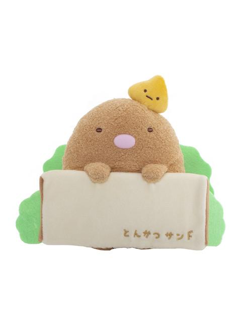 Sumikko Gurashi Tonkatsu Sandwich Plush