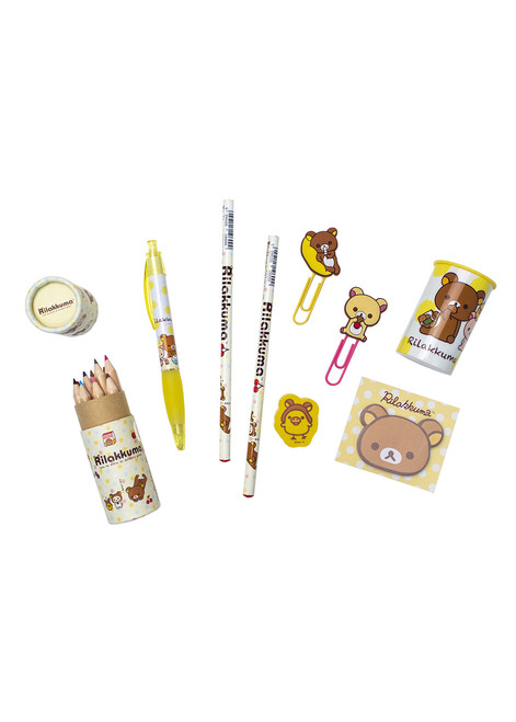 Rilakkuma™ Pencil + Pen Stationery Set
