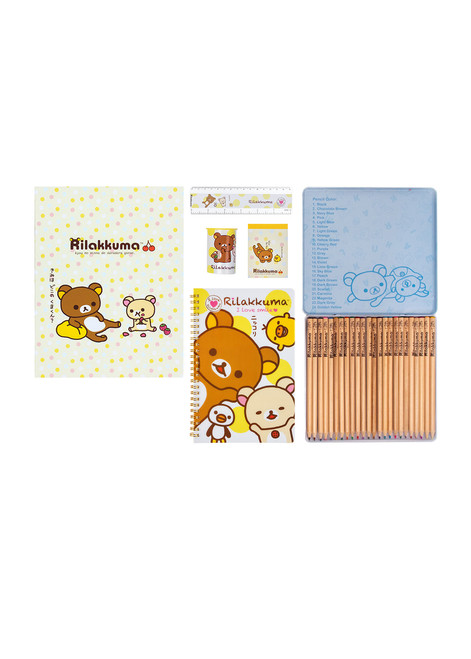 Rilakkuma™ Coloring Stationery Set
