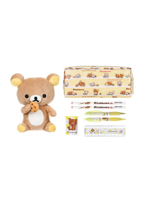 Rilakkuma™ Writing + Plush Stationery Set
