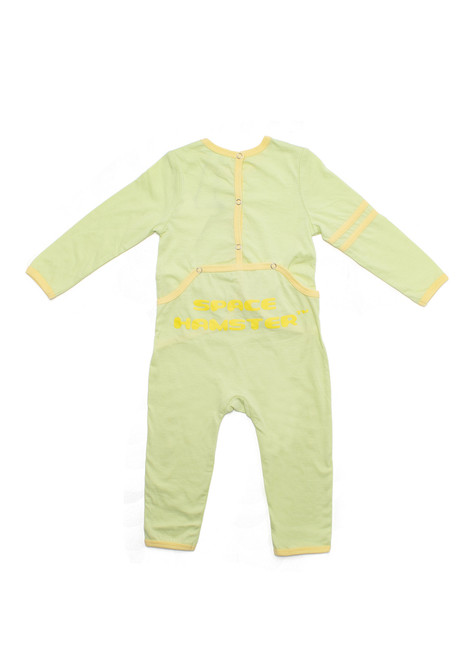 Space Hamster™ Sam the Grease Ham Green Baby Onesie