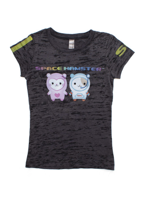 Space Hamster™ Grey Child T-Shirt Ruby Sinjin