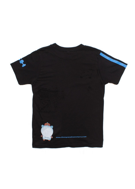Space Hamster™ Black Adult T-Shirt