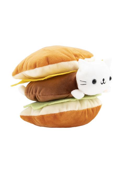Nyan Nyan Nyanko™ Cheeseburger Fast Food Cat Plush