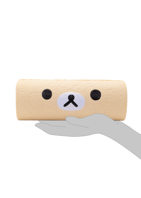 Korilakkuma™ Vanilla Cake Roll Squishy  Slow Rising Stress Ball