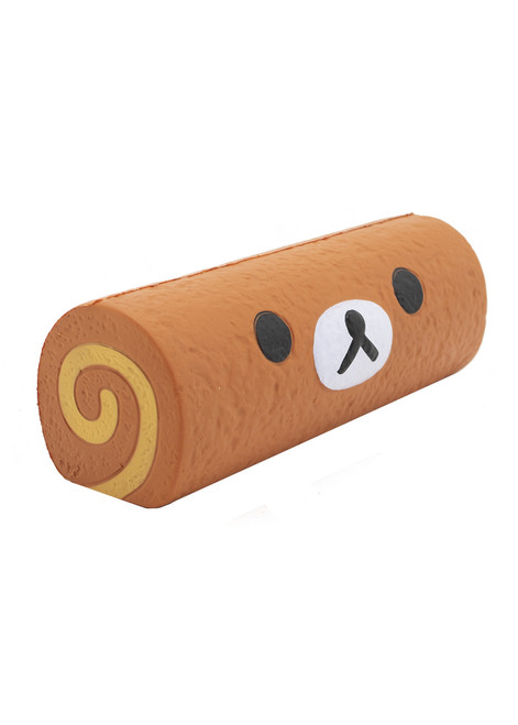 Rilakkuma™ Chocolate Cake Roll  Slow Rising Stress Ball