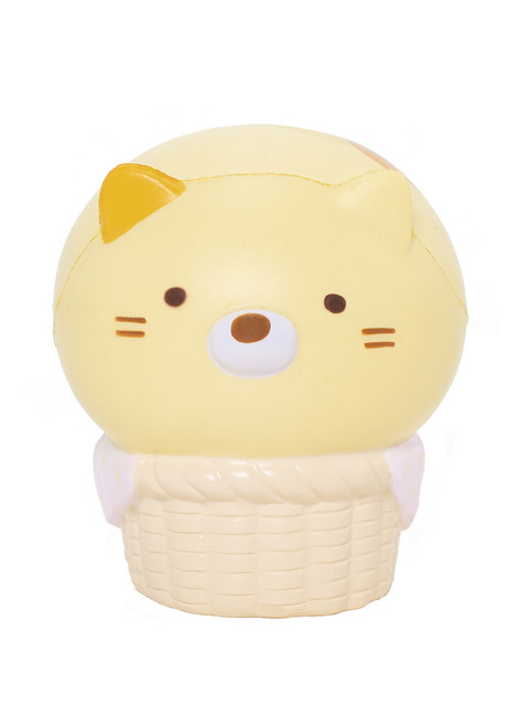 Sumikko Gurashi™ Neko in Basket  Squishy Slow Rising Stress Ball