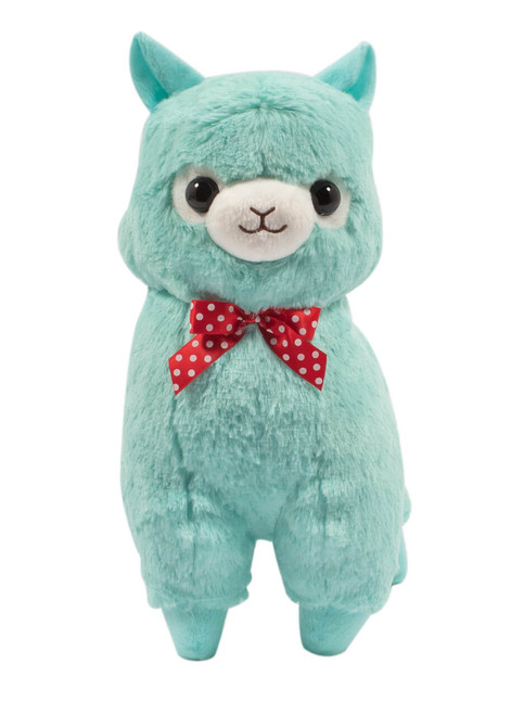Teal Alpaca facing forward