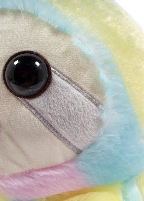 Amuse Rainbow Sloth Medium Plush