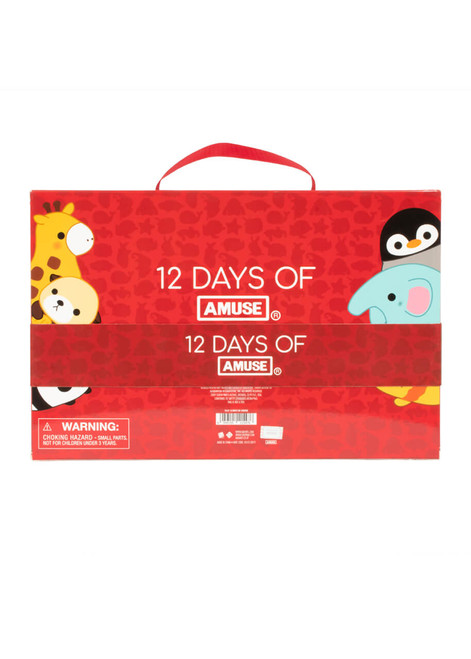 Amuse and Friends 12 Days of Christmas Plush Kawaii Advent Calendar