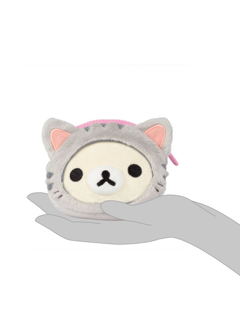 Korilakkuma Tiger Face Soft Coin Purse