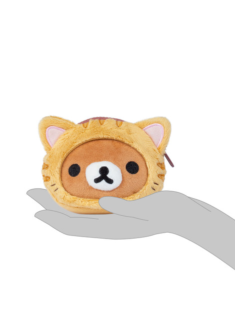 Rilakkuma Tiger Face Soft Coin Purse