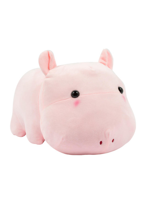 Amuse Pink Hippo Plush