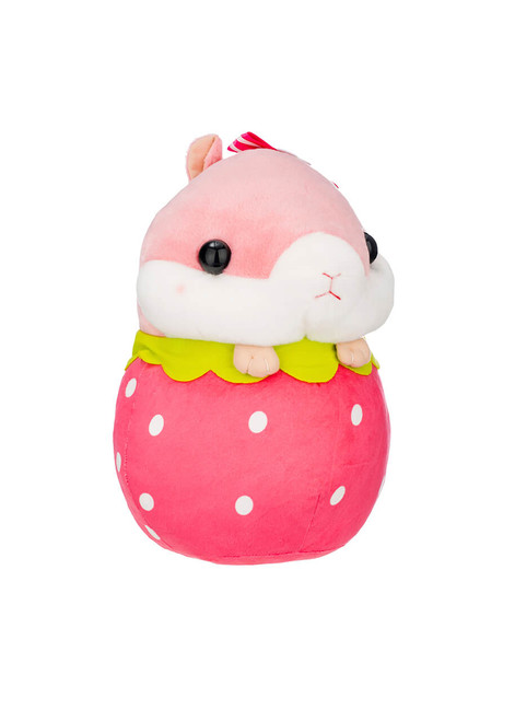 Amuse Korohamu Hamster in Strawberry Plush