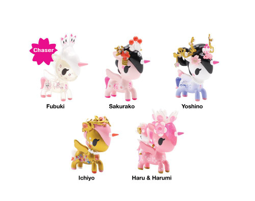 tokidoki Unicorno  -  Cherry Blossom Series Blind Box