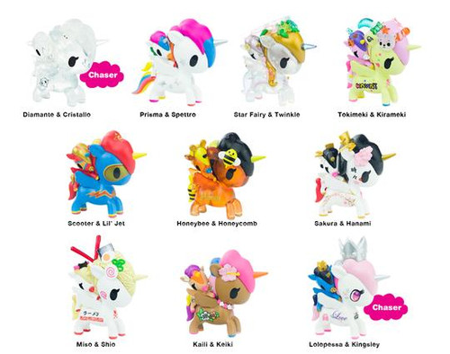 tokidoki Unicorno  -  Bambino Series 1 Blind Box