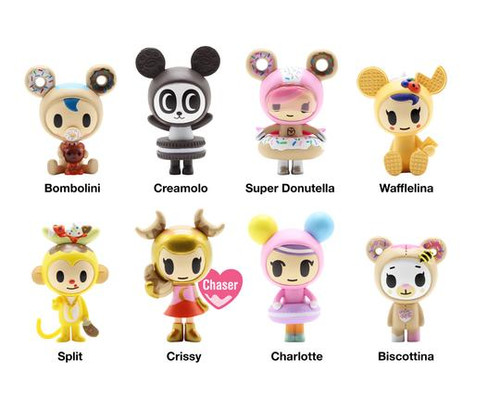 tokidoki Donutella  -  Sweet Friends Series 3 Blind Box