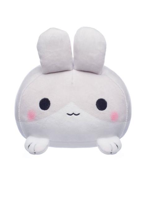 Honeymaru Grey Mochi Bunny Plush