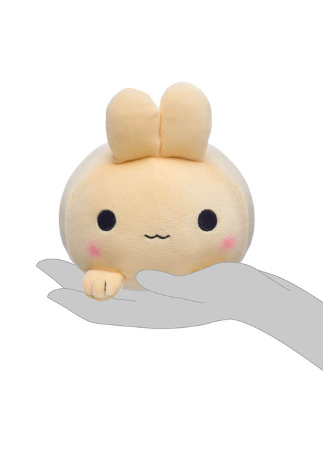 Honeymaru Tan Mochi Bunny Plush