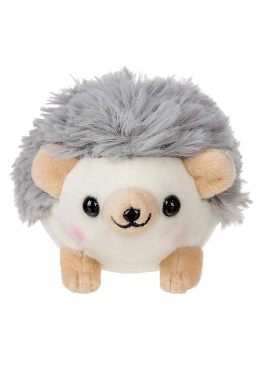 Amuse Hedgehog Grey Plush Keychain