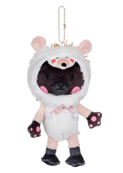 Kittygurumi Gertrude Hedgehog Plush Stuffed Keychain