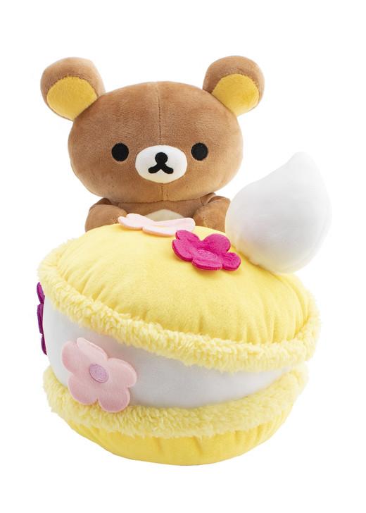 Rilakkuma Macaron Plush Stuffed Animal