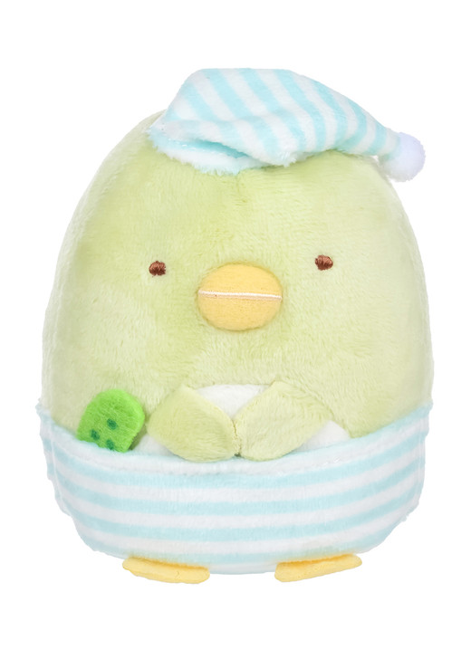 Penguin? in Pajamas with Cucumber