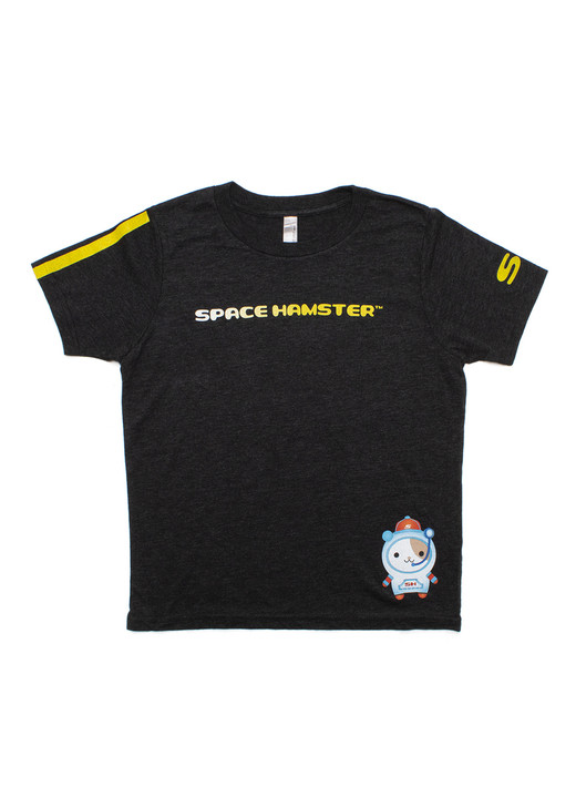 Space Hamster™ Charcoal T-Shirt for Child