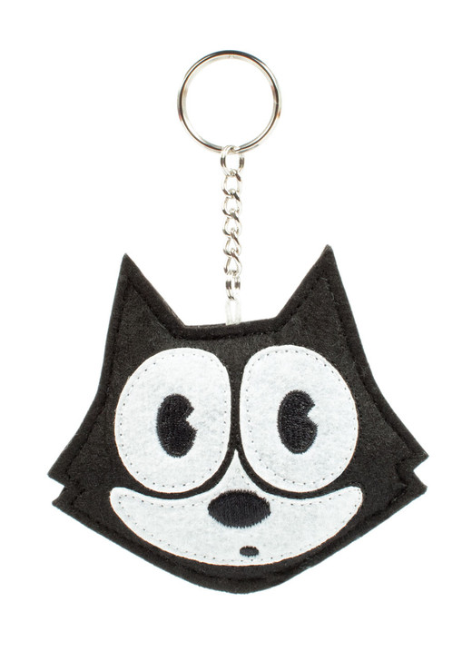 Classic Felix The Cat 3 Inch Keychain, front