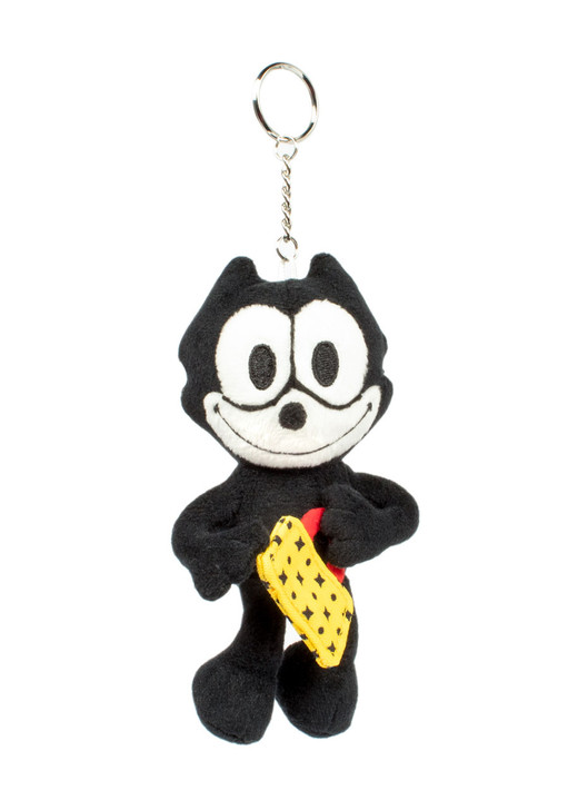 Felix The Cat w/ Bag of Tricks 3 Inch Keychain , front