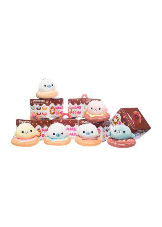 Mamegoma Donut Plush Blind Box Keychains - Group Details