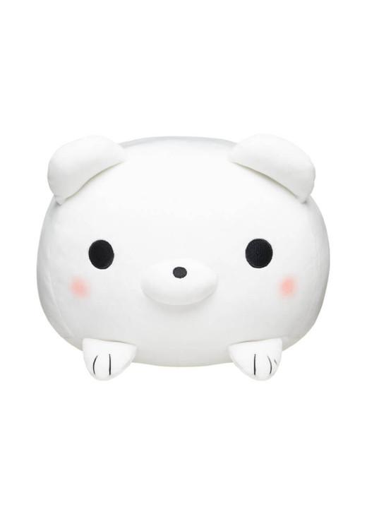 Honeymaru White Polar Bear Mochi Cushion - Front